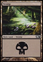 2011 Core Set: Swamp (238 A)