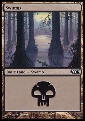 2011 Core Set: Swamp (239 B)