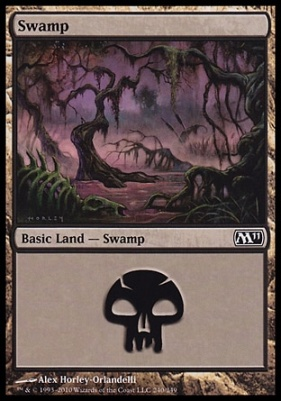 2011 Core Set: Swamp (240 C)