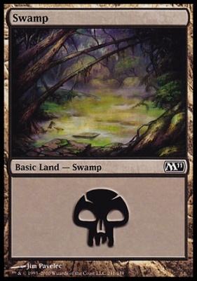 2011 Core Set: Swamp (241 D)