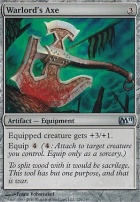 2011 Core Set Foil: Warlord's Axe