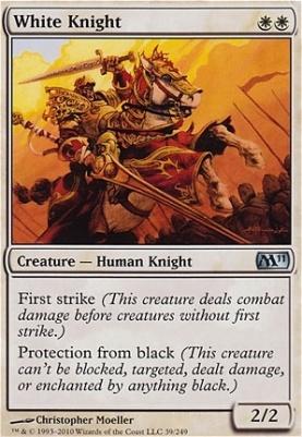 2011 Core Set: White Knight