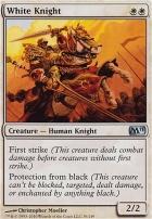 2011 Core Set Foil: White Knight