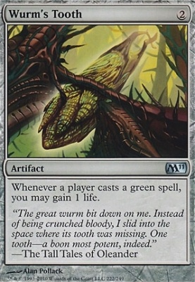 2011 Core Set: Wurm's Tooth