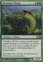 2011 Core Set: Yavimaya Wurm
