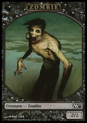 2011 Core Set: Zombie Token