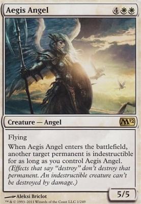 2012 Core Set Foil: Aegis Angel