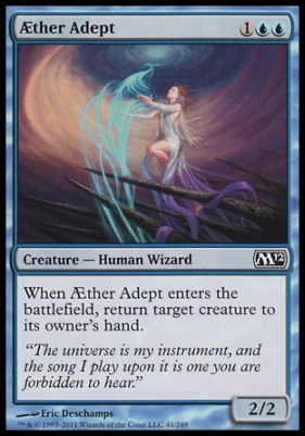 2012 Core Set Foil: Aether Adept