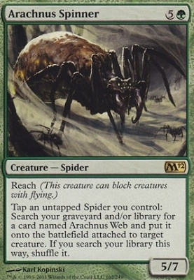 2012 Core Set: Arachnus Spinner