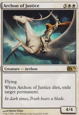 2012 Core Set Foil: Archon of Justice