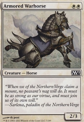 2012 Core Set: Armored Warhorse