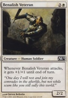 2012 Core Set: Benalish Veteran