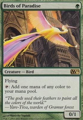 2012 Core Set: Birds of Paradise
