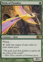 2012 Core Set Foil: Birds of Paradise