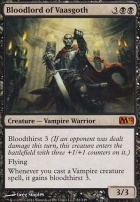 2012 Core Set Foil: Bloodlord of Vaasgoth