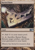 2012 Core Set Foil: Buried Ruin
