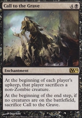 2012 Core Set: Call to the Grave