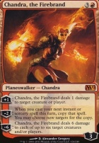 2012 Core Set Foil: Chandra, the Firebrand