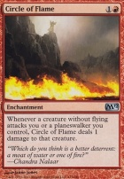 2012 Core Set Foil: Circle of Flame