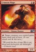 2012 Core Set Foil: Crimson Mage