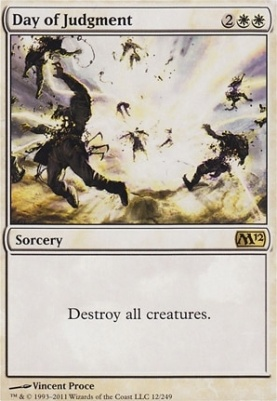 2012 Core Set Foil: Day of Judgment