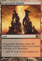 2012 Core Set Foil: Dragonskull Summit