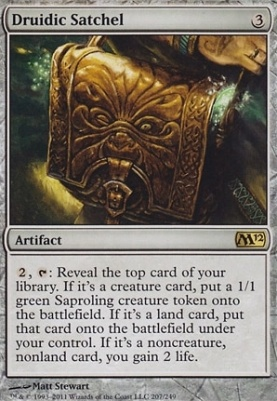 2012 Core Set Foil: Druidic Satchel