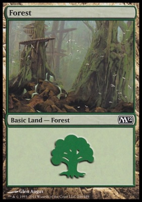 2012 Core Set: Forest (246 A)