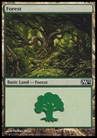 2012 Core Set: Forest (247 B)