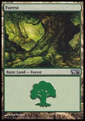 2012 Core Set: Forest (248 C)