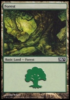 2012 Core Set: Forest (248 C)