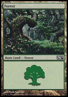 2012 Core Set: Forest (249 D)