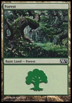 2012 Core Set: Forest (249 D)
