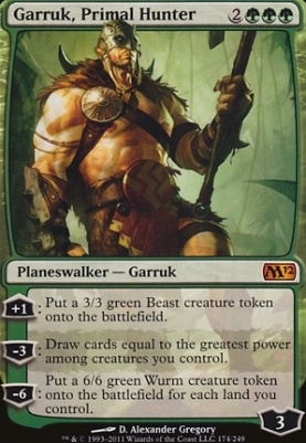 2012 Core Set: Garruk, Primal Hunter