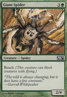 2012 Core Set: Giant Spider