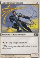2012 Core Set Foil: Gideon's Lawkeeper