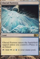 2012 Core Set Foil: Glacial Fortress