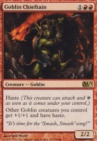 2012 Core Set: Goblin Chieftain