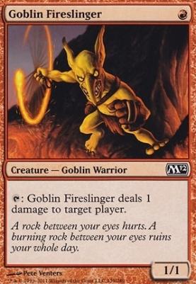 2012 Core Set Foil: Goblin Fireslinger