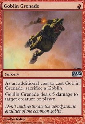 2012 Core Set: Goblin Grenade