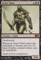 2012 Core Set: Grave Titan