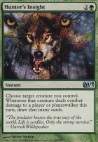 2012 Core Set Foil: Hunter's Insight