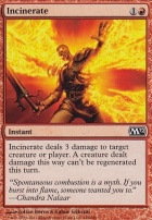 2012 Core Set Foil: Incinerate
