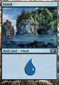 2012 Core Set: Island (234 A)
