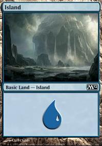 2012 Core Set: Island (235 B)