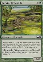 2012 Core Set Foil: Lurking Crocodile