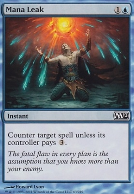 2012 Core Set: Mana Leak