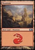 2012 Core Set: Mountain (242 A)