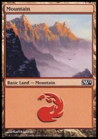 2012 Core Set: Mountain (243 B)