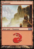 2012 Core Set: Mountain (245 D)